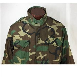 Other - Military Cold Weather Field Coat Jacket Camo M65